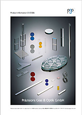 Catalog Optical coatings and technical precision glass